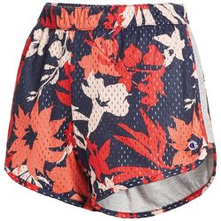 Champion Womens Reversible Floral Mesh Jersey Shorts