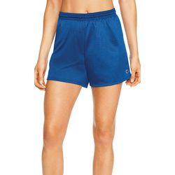 Champion Womens Mesh Elastic Waist Shorts
