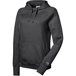 Champion Womens Solid Fleece Pull Over Hoodie