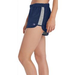 Champion Womens Reversible Solid Mesh Jersey Shorts