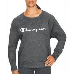 Champion Womens Heathered Fleece Sweatshirt