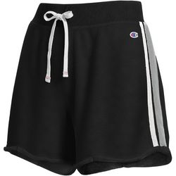Champion Womens Heritage Stripe French Terry Shorts
