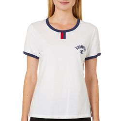 Champion Womens YC Arch Logo T-Shirt