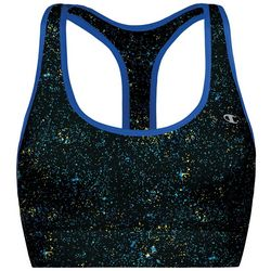 Champion Womens Absolute Paint Splatter Print Sports Bra