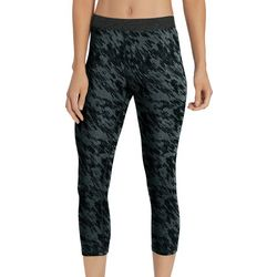 Champion Womens Everyday Abstract Print Capri Leggings