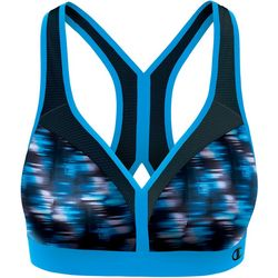 Champion Womens The Curvy Space Dyed Sports Bra
