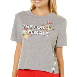 Inspired Hearts Juniors The Force Is Female T-Shirt