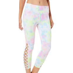 Inspired Hearts Juniors Classic Tie Dye Performance Leggings