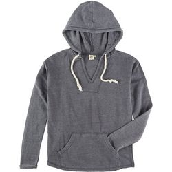 Lagaci Juniors Solid Hooded Sweatshirt