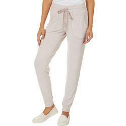 Juniors Heathered Solid Jogger Pants