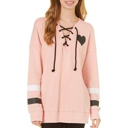 Miss Chievous Juniors Love Hope Faith Forever Sweatshirt