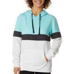 Exist Juniors Colorblock Hooded Sweatshirt