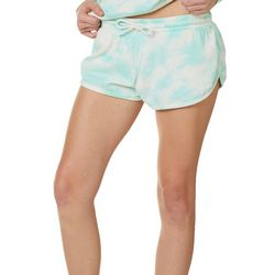 Exist Juniors Tie Dye Drawstring Shorts