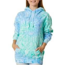 Southern Spirit Juniors Tie Dye Pull Over Hoodie