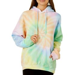 Southern Spirit Juniors Tie Dye Long Sleeve Pull Over Hoodie