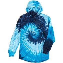 Southern Spirit Juniors Cool Color Tie Dye L Hoodie