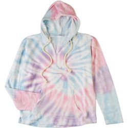 Dreamsicle Juniors Tie Dye Hooded Sweatshirt