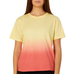 Exist Juniors Dip Dye Crew Neck T-Shirt