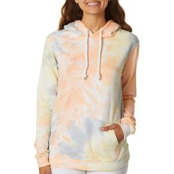 Exist Juniors Tie Dye Hooded Sweatshirt