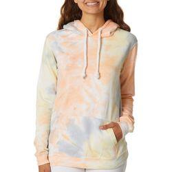 Exist Juniors Tie Dye Hooded Sweatshirt