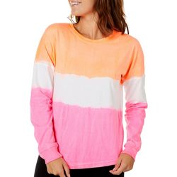 Exist Juniors Dip Dye Long Sleeve T-Shirt