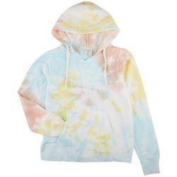 Dreamsicle Juniors Tie Dye Hooded Jacket23547228+1