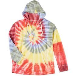 Exist Juniors Bright Tie Dye Hoodie