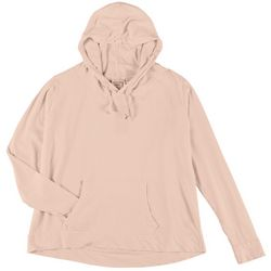 Southern Spirit Juniors Solid Hooded Thin Sweatshirt
