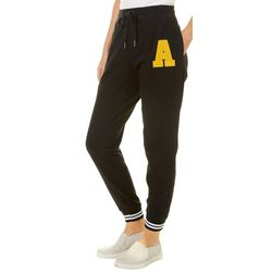 No Comment Juniors Letter A Jogger Pants