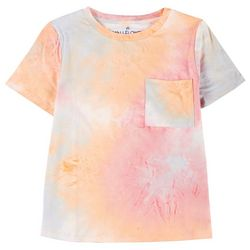 Wallflower Juniors Tie Dye Yummy T-Shirt