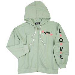Jolie and Joy Juniors Love Hooded Jacket