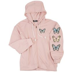 Jolie and Joy Juniors Butterfly Hooded Jacket