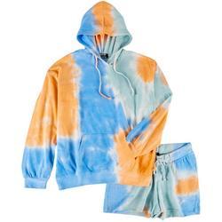 Juniors Trendy Tie-Dye 2-pc.Set