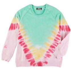 Jolie & Joy Juniors Vibrant Tie Dye Sweatshirt