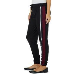 Hot Kiss Juniors Athletic Striped Jogger Pants
