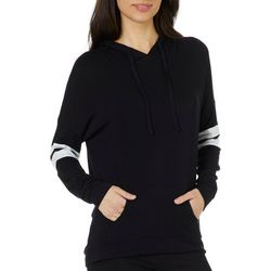 Savante Apppare Juniors Athletic Striped Hooded Pullover Top