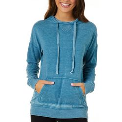 Angel Kiss Juniors Heathered Drawstring Hoodie