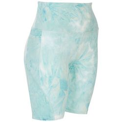 Ready To Go Juniors Beyond Soft Tie-Dye Active Shorts