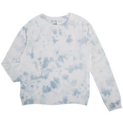 Messy Buns, Lazy Days Juniors Tie-Dye Sweatshirt