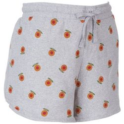 Messy Buns, Lazy Days Juniors Sun Flower Shorts