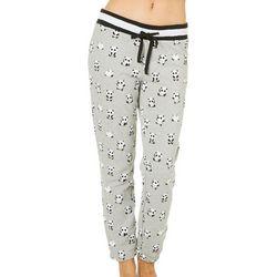 F.S.I Juniors Panda Print Pull On Jogger Pants
