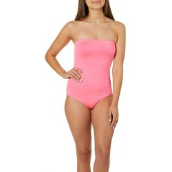 Polly & Esther Juniors Solid Strapless Bodysuit