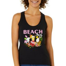 Kisses On Cotton Juniors Beach Party Tank Top