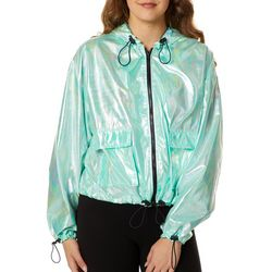 Jou Jou Juniors Iridescent Zip Up Windbreaker