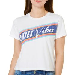 Rebellious One Juniors Chill Vibes T-Shirt