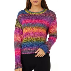 No Comment Juniors Space Dye Sweater