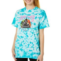 Hybrid Juniors Pink Floyd Tie Dye T-Shirt
