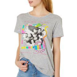 Beverly Hills 90210 Juniors Screen Print T-Shirt By Hybrid