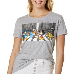 Disney Juniors Mickey & Friends Crossing T-Shirt