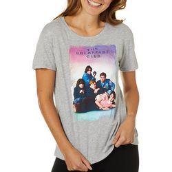 The Breakfast Club Juniors Cover Print T-Shirt By Hybrid
